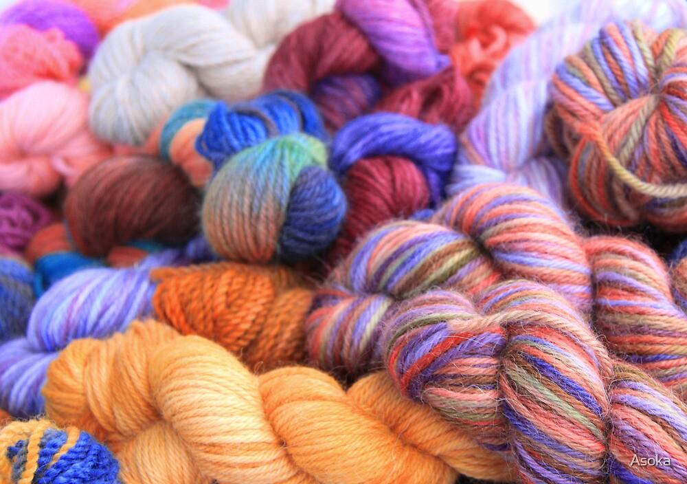 Alpaca Yarn by Asoka