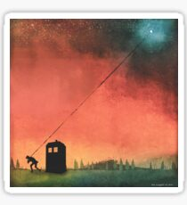Boy On A String [Constellations] Sticker