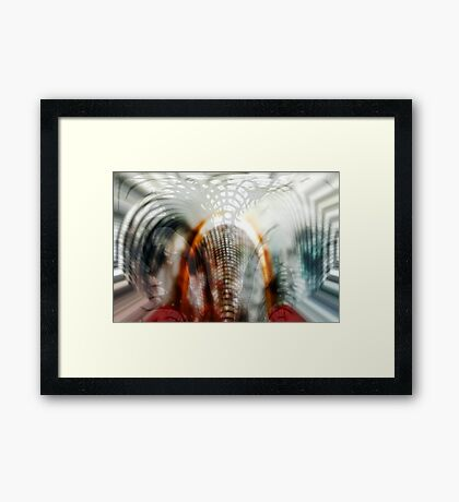 It's growing on you Framed Print