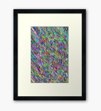 Colourflage 001 Framed Print