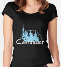 Canterlot Women's Fitted Scoop T-Shirt