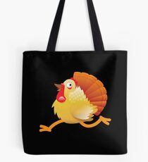(NEW) Turkey bird running Tote Bag