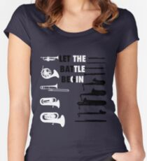 Battle of the Band Women's Fitted Scoop T-Shirt