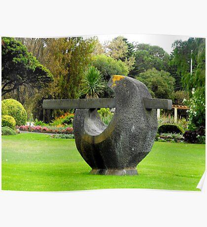 Fletcher Jones gardens Poster
