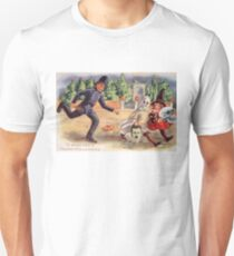 Young Graverobbers  (Vintage Halloween Card) Unisex T-Shirt