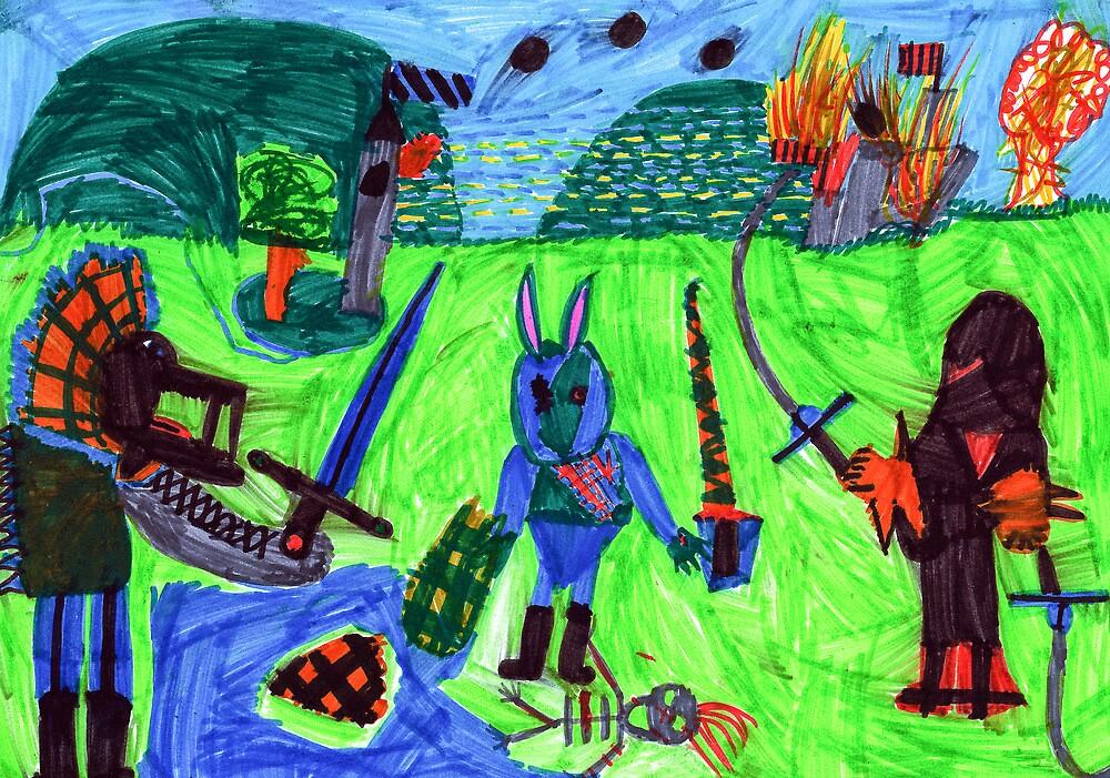 The last battle by John Bogusz