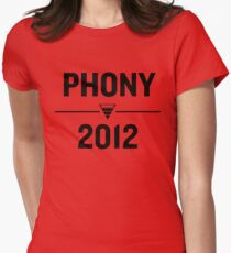 PHONY 2012 - Phony2012 Logo Remade Womens Fitted T-Shirt