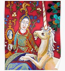Lady & The Unicorn (La Vue) Poster