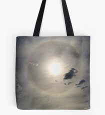 Halo around the Sun Tote Bag