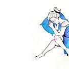 Blue Dreams by vahlreart