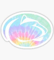 Penn State tie dye logo Sticker