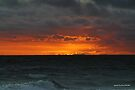 Mordialloc beach sunset 004 by Karl David Hill