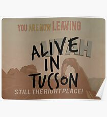 Alive In Tucson - Last Man on Earth Poster