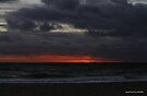 Mordialloc beach sunset 005 by Karl David Hill