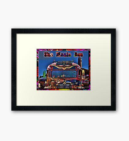 The Magic Bus Framed Print