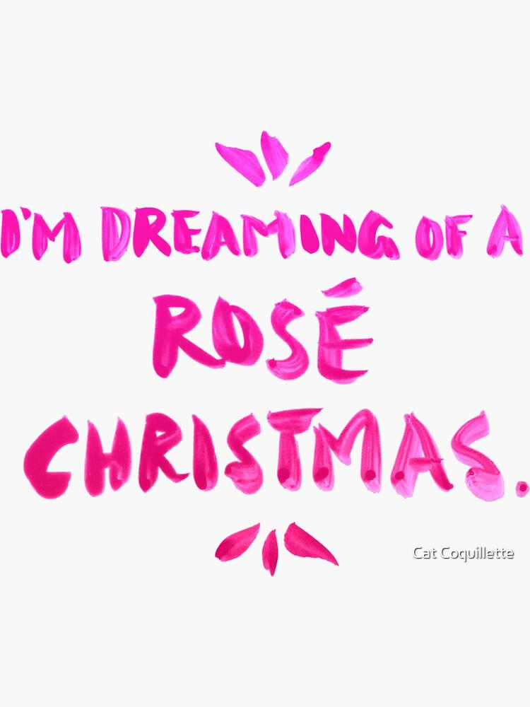 Rosé Christmas by catcoq