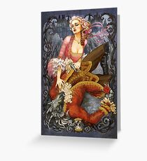Beauty & the Beast Greeting Card