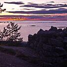 Sunset at Eestiluoto by Niko Mönkkönen