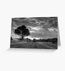 Silent Carriages  Greeting Card