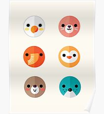Smiley Faces - Set 1 Poster