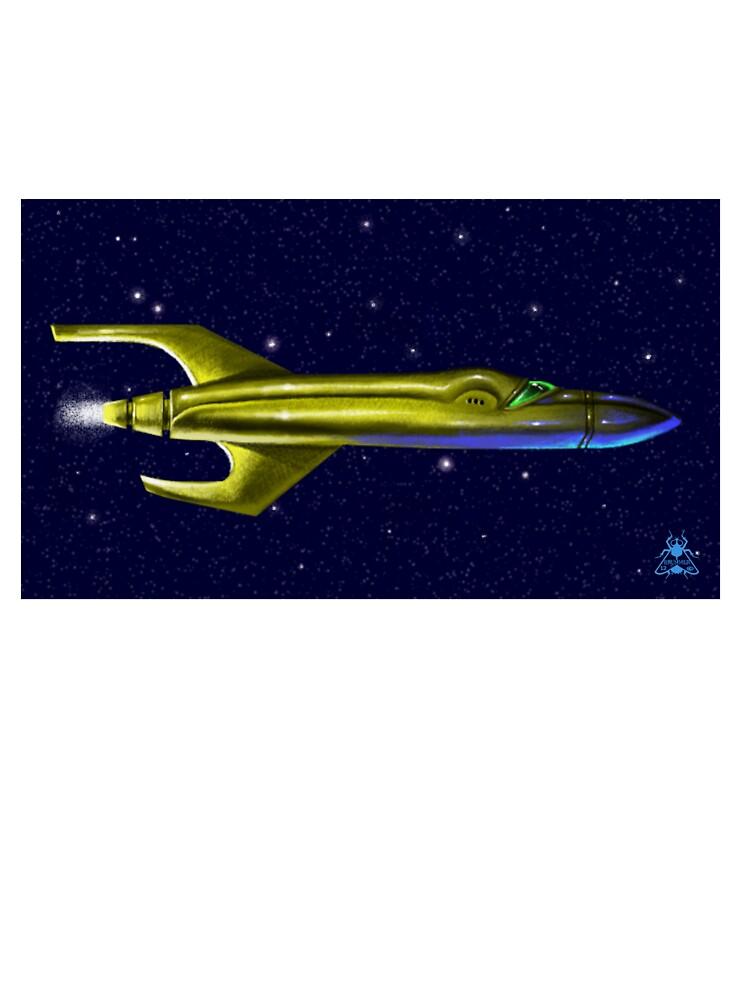 Rocket to Uranus  by mesamantis