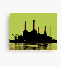 Battersea Power Station, London Canvas Print