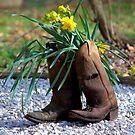Kicking Spring Around by Lori D Myers