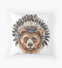 Do My Ears Look Big In This?  Throw Pillow