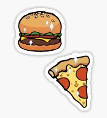Cheeseburger Pizza Sticker