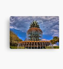 Famous Pineapple Fountain Canvas Print