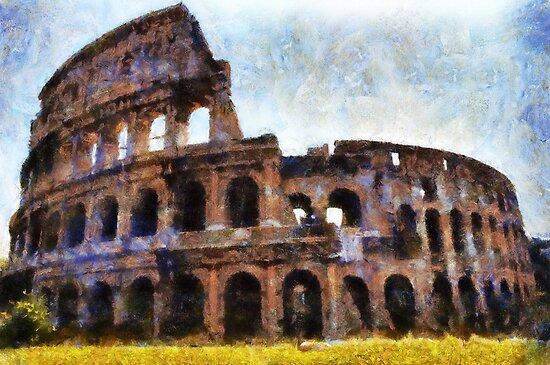 The Colosseum, Rome, Italy  by David Carton