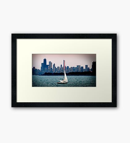 Where will the wind take you?... Framed Print