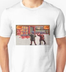 Young Killers  (Vintage Halloween Card) T-Shirt
