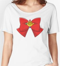 Sailor Moon Crystal Bow Women's Relaxed Fit T-Shirt