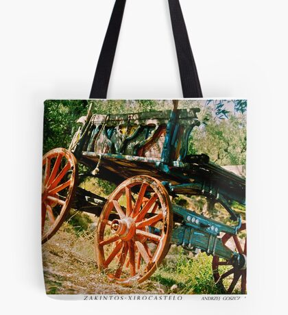 My travels - Zakinthos . Doctor Faustus. Tote Bag