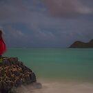 Girl in red by Gosha Davis