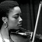 She Plays Hip Hop On The Violin by SuddenJim