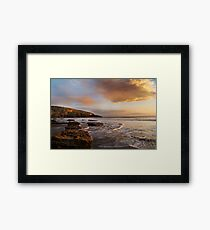 Sunset, Wales Framed Print
