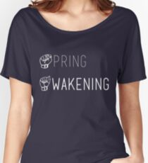 Spring Awakening Deaf West American Sign Language Women's Relaxed Fit T-Shirt