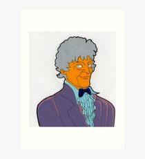 Doctor Who - Jon Pertwee Art Print