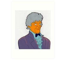 Doctor Who - Jon Pertwee Art Print