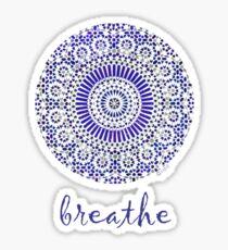 breathe water drop Sticker