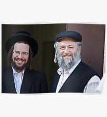 Shalom (שָׁלוֹם) .  Shalom Aleichem ! : שלום־עליכם sholem aleykhem !Harcikn Dank ! A dank ojch zejer!   by Doktor Faustus ♥ .. Poster
