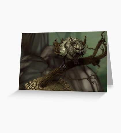Owl of the Wood Greeting Card