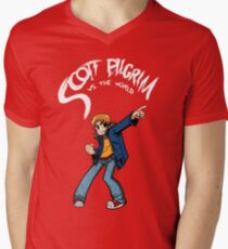 Scott Pilgrim Men's V-Neck T-Shirt