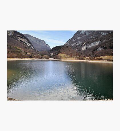 Lake Tenno, Italy Photographic Print