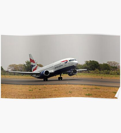Departing Livingstone Poster