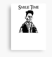 Smile Time Canvas Print