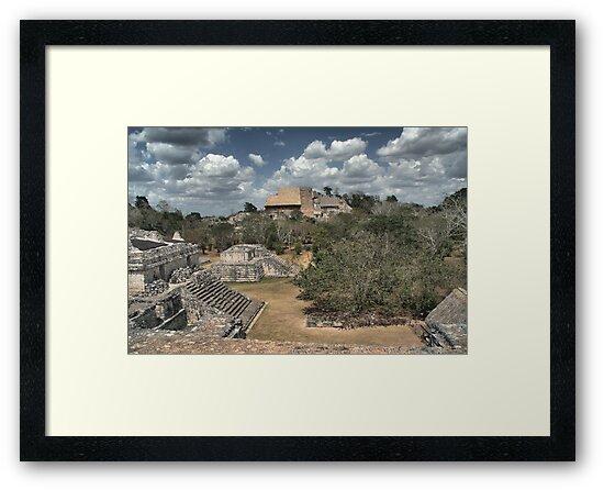 Ek' Balam Acropolis by Allen Lucas