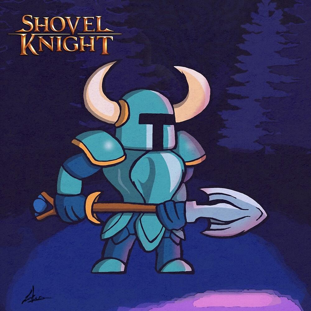 Shovel Knight Love by LuisIPT